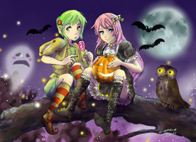 SA - Vocaloid Halloween by Lahara