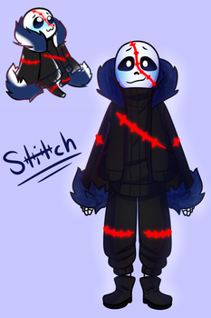 Stitch (Undertale OC(?)) by The-NoiseMaker