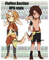 Fluffen auction: RPG style (CLOSED) by Steamed-Bun