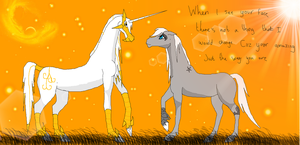 amazing just the way you are.. by Horses-Echo