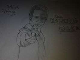 Rick Grimes by thegeek24