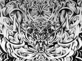 Symmetrical Ink Abstraction by hyronomous