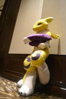 Renamon Waiting by Firewolf77