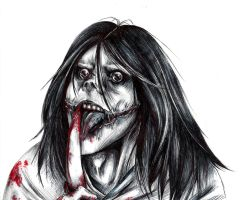 Jeff the Killer Sketch? by sugar-crzy-donut
