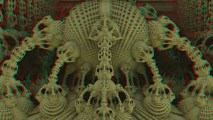 Sand Sculpture in Stereo by DDDPhoto