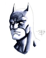 Batman Headshot by FooRay