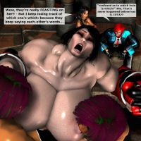 2 on 1 Shemale Sexfight by EdgarSlam