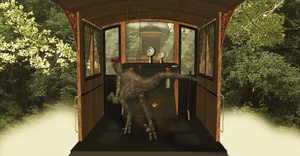 Dinosaur Driving A Train Hd 5 by dinodanthetrainman