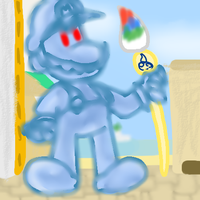Shadow Mario by PoisonLuigi