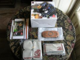Console bundle Psp Monster Hunter 2G by ninjamaster76