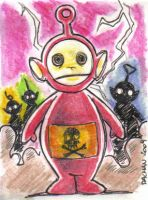 The Four Horsemen Sketchcard by kennydalman