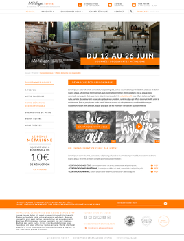 Metaligne Store - Official Webdesign by ShinDatenshi