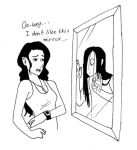 I don't like this mirror by PsykoBruttan