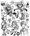 Majora's Mask Mini-Dump by Turtle-Arts