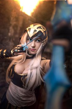 Ashe Cosplay by yarpenna