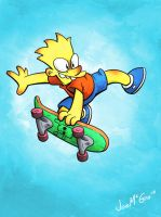 Bart Simpson by JoeMcGro