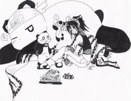 Summoning Panda No Jutsu by CloudNinja5