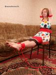 Alice Lee - tied to the chair 02 by Stervus