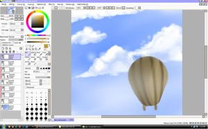 WIP: Sky balloon by stevengico