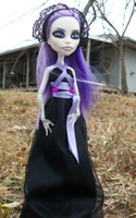 Custom Spectra Monster High Doll by AdeCiroDesigns