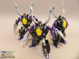 Shrapnel with clones by WheelJack-S70