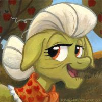 Square Series - Granny Smith by sophiecabra