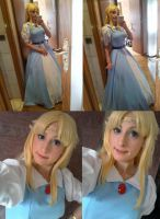 Princess Zelda A Link To The Past Maiden Version by memoire-hana