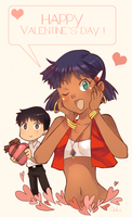 Nadia+Shinji by Goku-chan