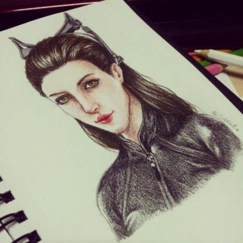 Catwoman - instagram by labbid