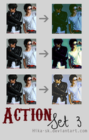 Action Set 3 by Hika-sk