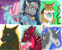 Badges by blackmustang13