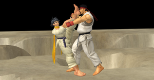 Ryu Like Makoto's Feet by nashdnash2007