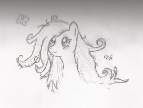 Fluttershy can pull it off.. by Moonlit-Milkyway