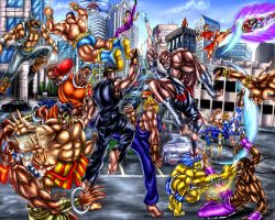 Super Street Fighter 2 Turbo X -World Warriors by SoulStryder210