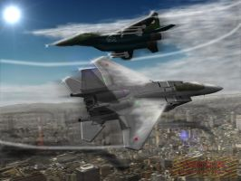 Duel over Tokyo by Panzerfire