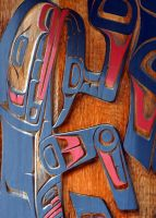 First Nations Carvings by Hysazu