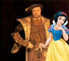 King Henry VIII and Snow White by Mommy-of-Ein