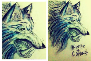 Dire Wolf by Maheen-S