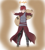 Gaara - colored by Ahrifox