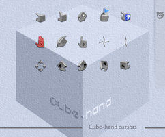 Cube-hand by tchiro