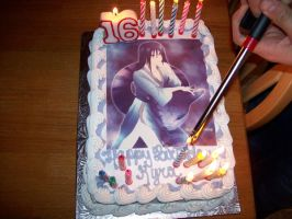Orochimaru on a Cake by nobodieslove