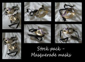 Stock Pack - Masquerade Masks by rockgem