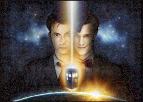 Doctor Who request mosaic by Lacon-te
