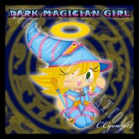 Dark Magician Girl Chao by CCgonzo12