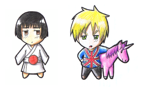 APH: Japan, GB by Freaky-chan