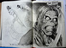 You Kids Sketch Pad Page by TheGurch