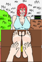 Laura Tickle Torture 3 by narutobyrufy