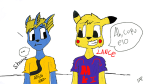 Shane and Lance coloured by IlyaRacer