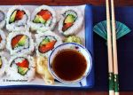 Homemade Sushi Roll by theresahelmer