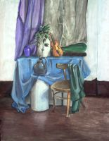 A Still Life in Gouache by akrawczyk83